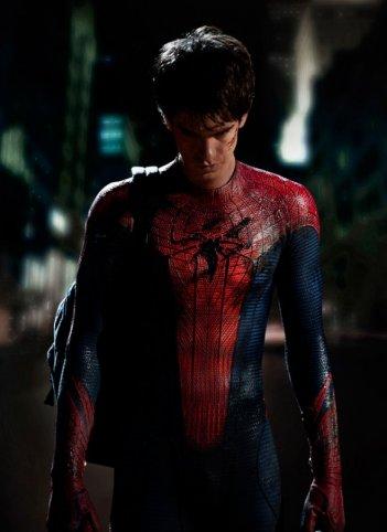 Ecco la prima immagine di Andrew Garfield nei panni di Spider-Man