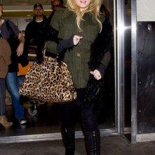 Jessica arriva al Los Angeles International Airport