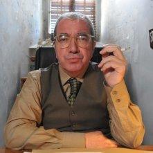 Juan Luis Galiardo in una scena del film La daga de Rasputín