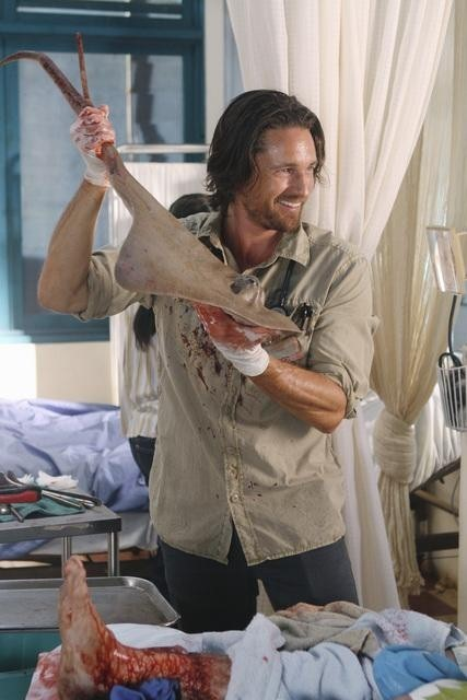 Martin Henderson Nell Episodio Saved By The Great White Hope Di Off The Map 189588