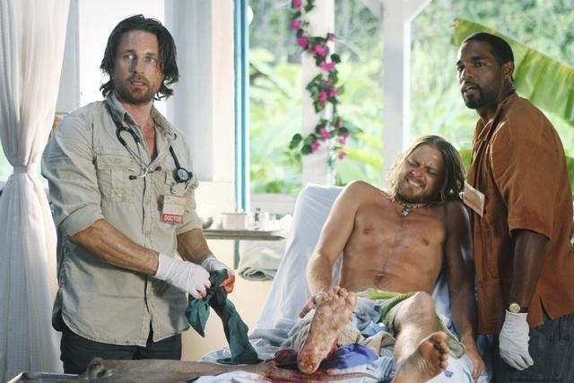 Martin Henderson Thomas Blake Jr E Jason George Nell Episodio Saved By The Great White Hope Di Off T 189589