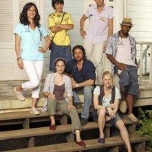 Off the Map: una immagine promozionale del cast della serie