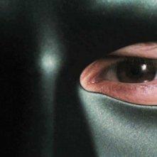 Primissimo piano di Seth Rogen dal film The Green Hornet