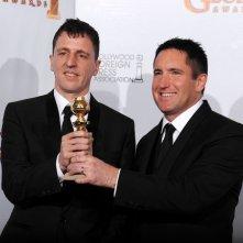 Atticus Ross e Trent Reznor premiati ai Golden Globes 2011 per la colonna sonora di The Social Network