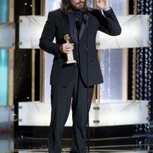 Christian Bale, migliore attore non protagonista per il film The Fighter ai Golden Globes 2011