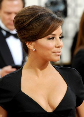 Golden Globes 2011, Eva Longoria sul red carpet