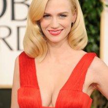 Golden Globes 2011: January Jones sul red carpet