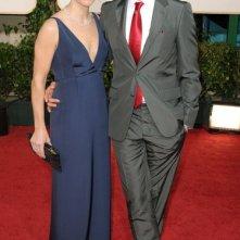 Susan e Robert Downey jr. sul red carpet dei Golden Globes 2011