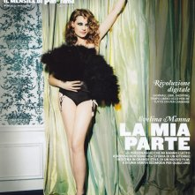 Evelina Manna sulla cover del magazine First
