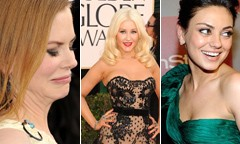 Golden Globes 2011: orrori e splendori del red carpet
