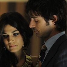 Kim Rossi Stuart e Valeria Solarino in una scena del film Vallanzasca - Gli angeli del male