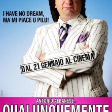 Locandina ufficiale del film Qualunquemente.