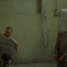 Un'immagine inquietante del film La donna che canta