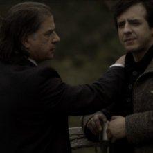 Gérard Meylan con Florient Azoulay nel film Le Thanato