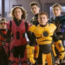 I giovani protagonisti del film Spy Kids 2: l'isola dei sogni perduti
