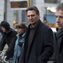 Liam Neeson in una sequenza di Unknown