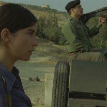 Mélissa Désormeaux-Poulin in una sequenza del film La donna che canta