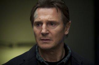 Un primo piano di Liam Neeson in Unknown