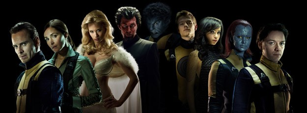 Ecco il team di X-Men: First Class al completo