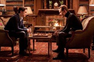 Faccia a faccia tra James McAvoy e Michael Fassbender in X-Men: First Class