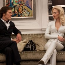 Kevin Bacon e January Jones in X-Men: First Class