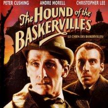 La locandina di La furia dei Baskerville