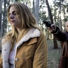 Macarena Gómez con Vicente Romero nel film Carne de neón