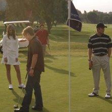 Marissa (M. Barton), Ryan (B. McKenzie), Oliver (T. Handley) e Luke (C. Carmack) in: Sul campo da golf di The O.C.