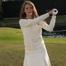 Marissa (Mischa Barton) sui campi da golf nell'episodio Sul campo da golf di The O.C.