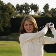 Mischa Barton sul campo da golf dell'episodio Sul campo da golf di The O.C.