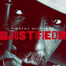 Un poster della stagione 2 di Justified
