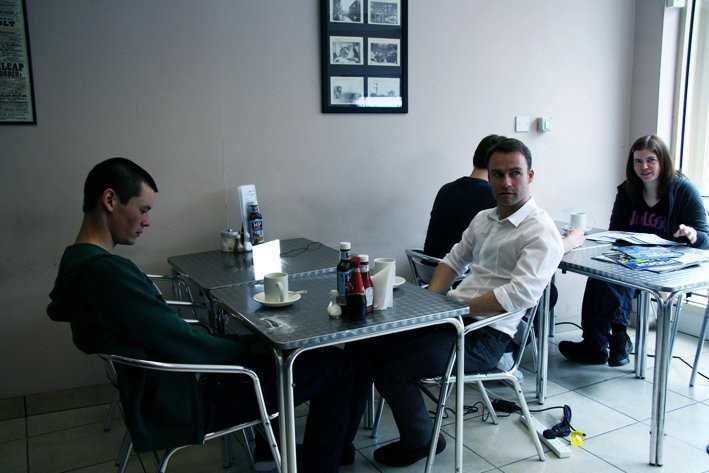 Christopher ODonnell e Jonathan Keane nel cortometraggio