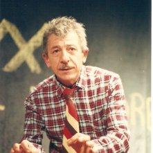 Federico Fumo sul palcoscenico con \'Viva l\'A e po\' bon\'