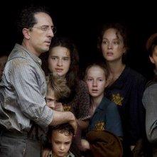 Gad Elmaleh con i bambini del film Vento di primavera