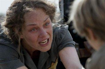 Raphaëlle Agogué in una scena del film Vento di primavera