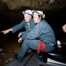 Werner Herzog e Peter Zeitlinger in una immagine di Cave of Forgotten Dreams