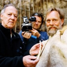 Werner Herzog, Peter Zeitlinger, Wulf Hein in una immagine di Cave of Forgotten Dreams