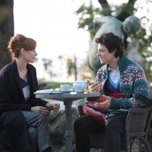 Andrea Bosca con Camilla Filippi nel film Febbre da fieno