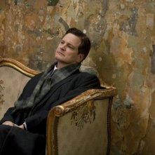 Colin Firth in una immagine del film The King's Speech