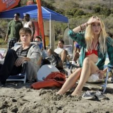 Gillian Zinser e Matt Lanter nell'episodio Liars di 90210