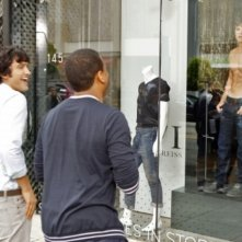 Michael Steger, Tristan Wilds e Matt Lanter nell'episodio How Much Is That Liam In The Window di 90210