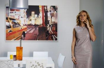Serena Autieri, tra i protagonisti del film Femmine contro Maschi