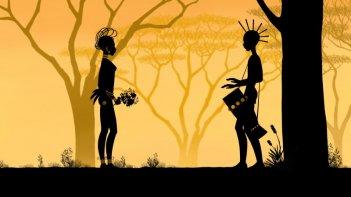 Una delicata sequenza del film Tales Of The Night (Les contes de la nuit) di Michel Ocelot