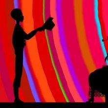 Una sequenza del film d'animazione Les contes de la nuit di Michel Ocelot