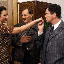 Uwe Bohm, Georg Friedrich, Ursula Strauss in My Best Enemy