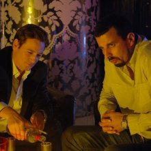 Benoît Magimel e Samir Guesmi in una scena del film L'avocat
