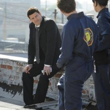 David Boreanaz nell'episodio The Daredevil in the Mold di Bones