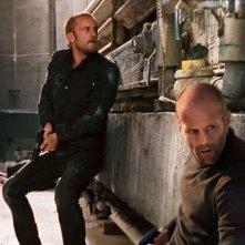Jason Statham e Ben Foster, protagonisti di The Mechanic