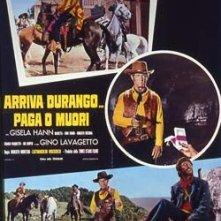 La locandina di Arriva Durango... paga o muori