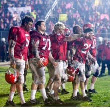 Un momento dell'episodio del Super Bowl di Glee